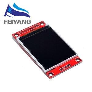 Image 3 - 10 adet 1.8 inç TFT LCD modül LCD ekran modülü SPI seri 51 sürücüleri 4 IO sürücüsü TFT çözünürlük 128*160 Arduino için