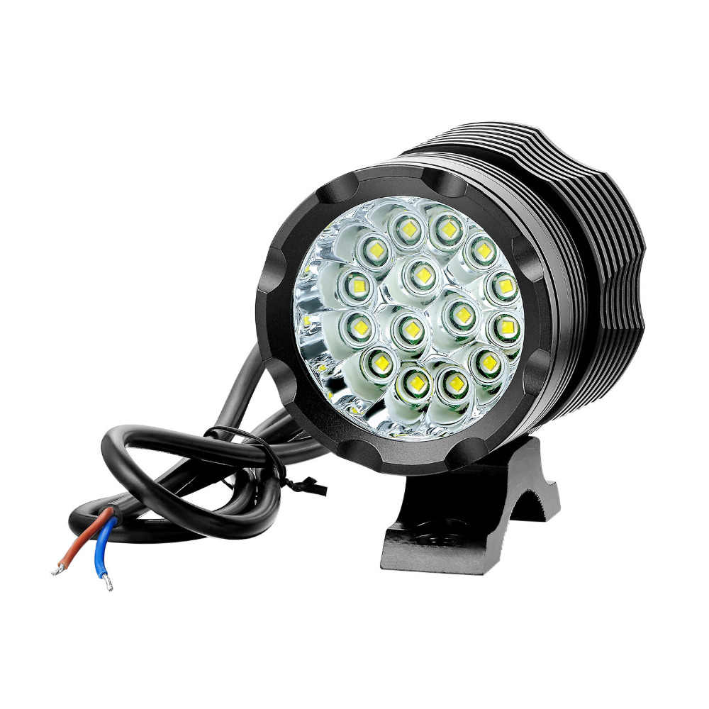 150W Waterproof ebike DC 12V- 85V standard electric bike lights Cree T6 Front Headlight motorcycle Spotlight Fog Light