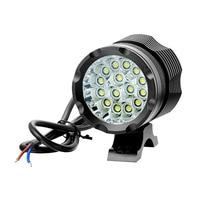 150W Waterproof ebike DC 12V 85V standard electric bike lights Cree T6 Front Headlight motorcycle Spotlight Fog Light