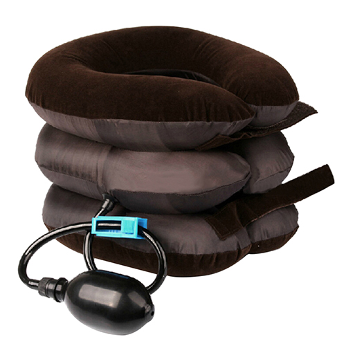 Cervical Neck Traction Device Headache Shoulder Pain Relax Brace Support Pillow Neck Collar Inflatable Neck Collar Glisson Loop