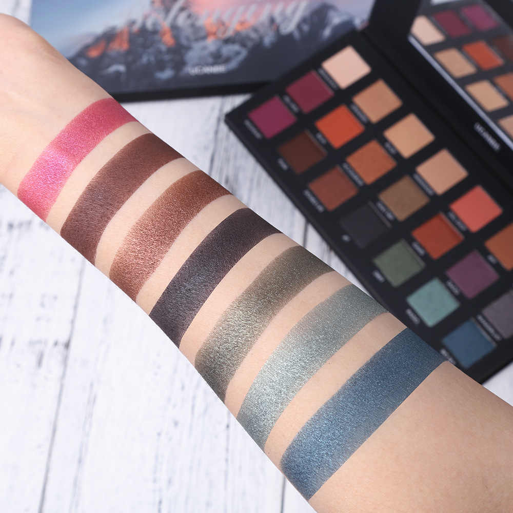 2809c3bb2f3e UCANBE New Eye Shadow Palette Hot 21 colors shimmer Matte mixed Eye Shadow  Palette Nude long-lasting Eyeshadow Palette
