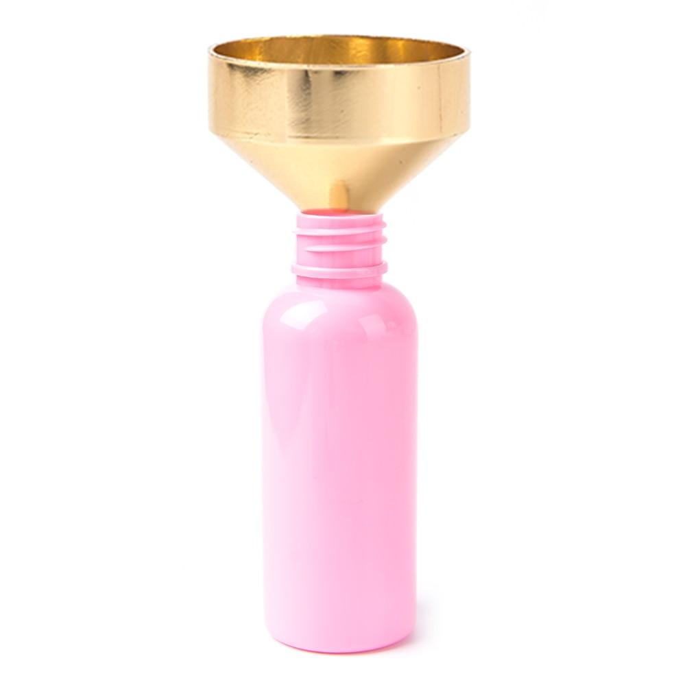 1Pcs Mini Small Filling Lab Perfume Funnels Aluminum Metal Transfer Liquid Oil Bottle Diffuser Funnels