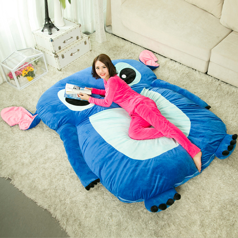 1 2x2 0m Cute Cartoon Lilo And Stitch Image Sleeping Bag