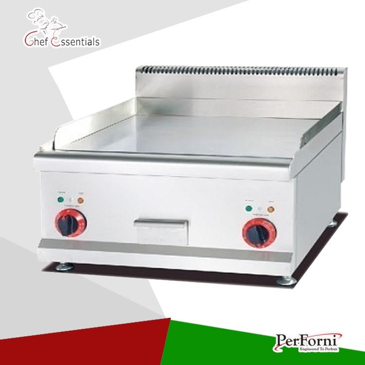 PKJG EG686 Counter Top Electric Griddle flat plate grill stainless steel electric griddle for resturant kitchen griddle