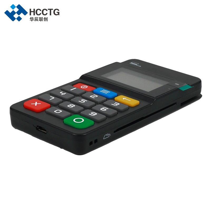 MPOS terminal de paiement Mobile lecteur de carte magnétique NFC & IC lecteur de carte à puce avec clavier-HTY711 - 4
