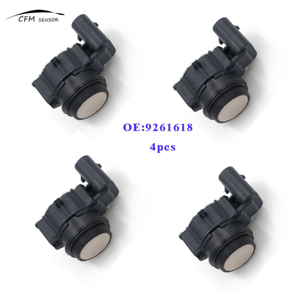4pcs New 9261618 PDC Parking Sensor Reverse Assist For BMW 02630135984pcs New 9261618 PDC Parking Sensor Reverse Assist For BMW 0263013598