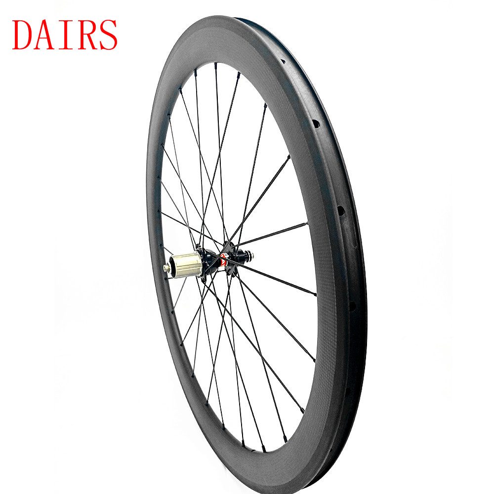 700c wheelset 50x25mm clincher NOVATEC F372SB rear wheel 940g carbon wheels xiamen road bicycle wheelset pillar 1432
