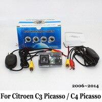 Wireless Car Camera For Citroen C3 Picasso Grand C4 Picasso MK1 HD CCD Night Vision Rear