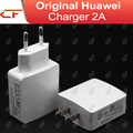 100% New 5V / 2A EU US Plug USB Charger Adapter for Huawei phone & tablet black and white free shipping