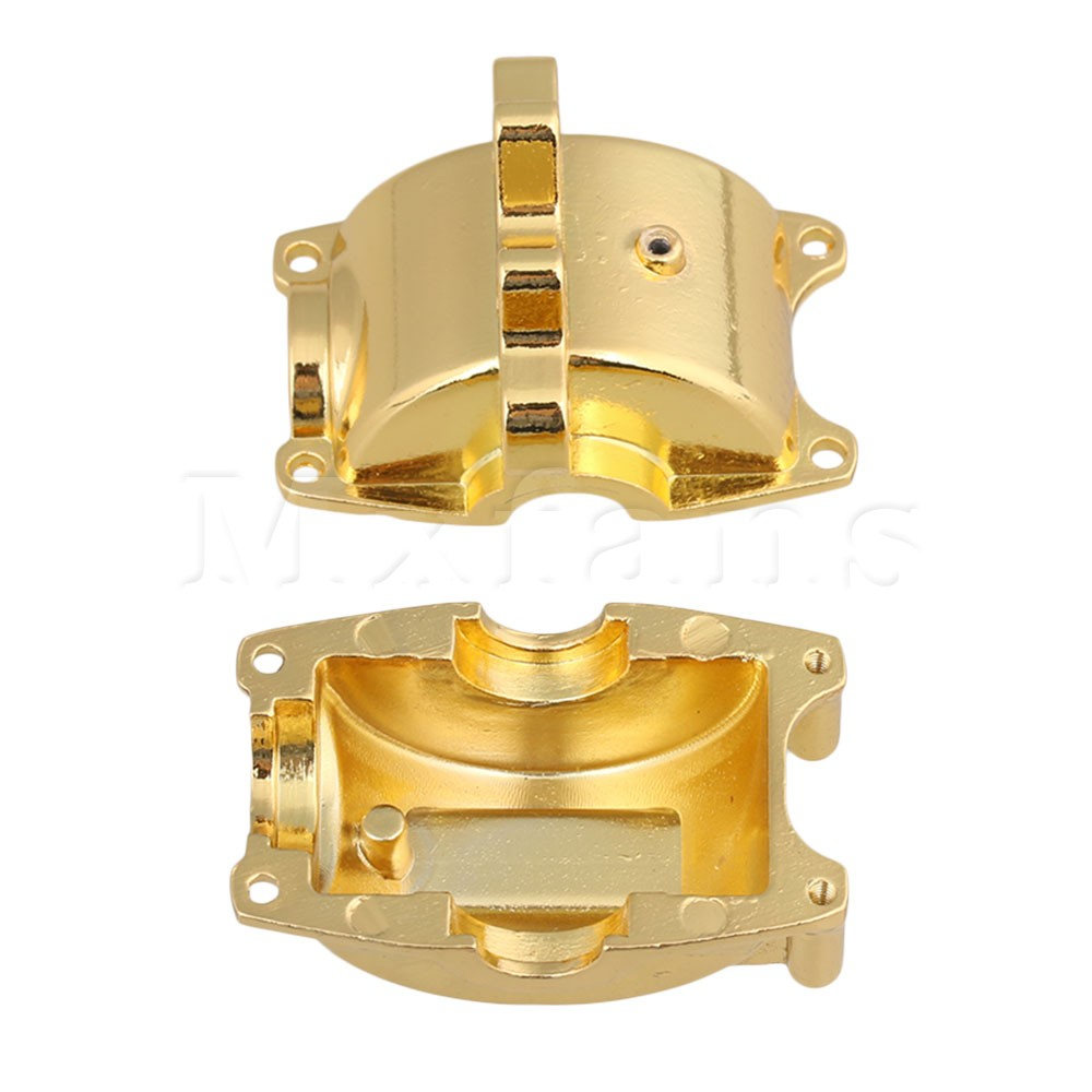 Mxfans Yellow A580053 Aluminum Alloy Upgrade Front Rear GA580053 Gear Box Mount for WL A959 A969 A979 k929 Model Car
