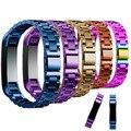 Высокое Качество Настроены Металлический Нержавеющая Сталь Ремешок Для Часов Ремни Для Альта Fitbit Браслет Smart Watch Корреа Reloj