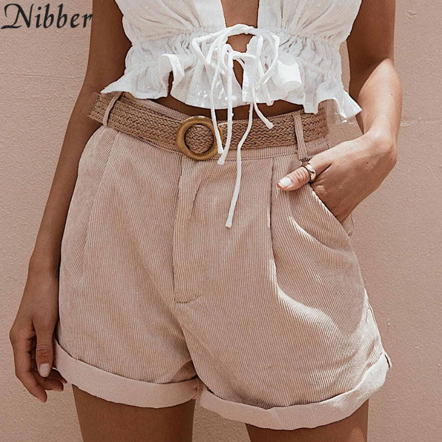 f7df39dbb5 ... Nibber white cute denim shorts women summer fashion Street style casual  shorts 2019hot ladies Beach leisure ...