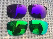 2 pares verde   roxo Polarizada Lentes de Reposição para Júpiter-Quadrado  Óculos De Sol f2cf58645c