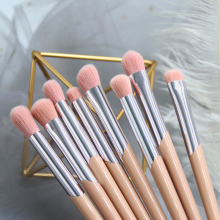 BBL 1 Piece Pink Makeup Eye Brush Eyeshadow Blending Shading Crease Tapered Highlighter Brush Beauty Essential Make Up Brushes classic makeup brush m series natural goat hair tapered eyeshadow blending eye contour sweep smudge nose highlighter brush