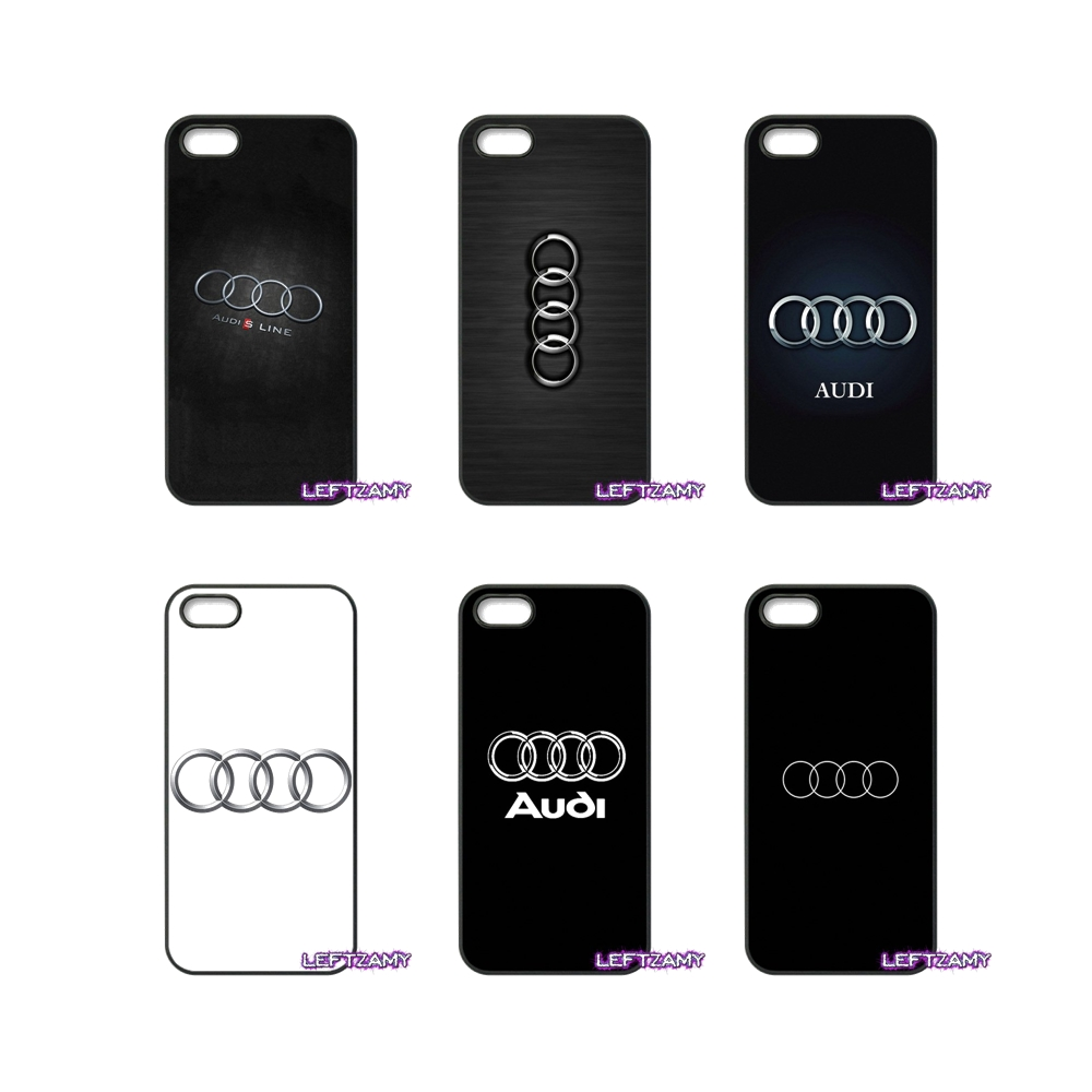 For Samsung Galaxy Note 2 3 4 5 8 S2 S3 S4 S5 MINI S6 S7 edge Active S8 Plus For Audi A3 A4 A6 Logo Cell Phone Case Cover