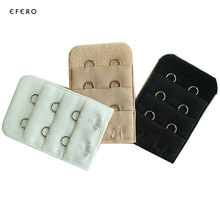 5Pcs Bra Extender Elastic 3 Row 2 Hook Clip On Strap Soft Bra Extension Strap Underwear Belts Women Intimates Bra Accessories