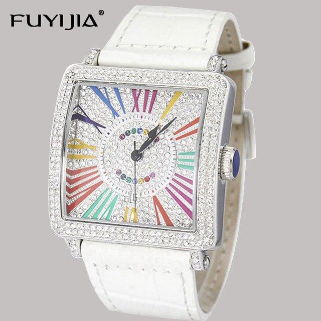 New Lady Quartz Wristwatches Women's Watches Ladies Watch Top Brand Luxury Girl Clock Classic Square Leisure Relogios Femininos