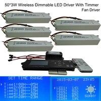 Nova 150 W LED aquário luz motorista, Controle remoto regulável, Temporizador, Led recife carvão ( personalizável )