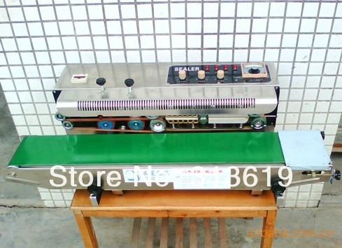 The FRD-1000C Multifunction ink printing sealing machine is suitable for any plastic bags printed code sealing machine