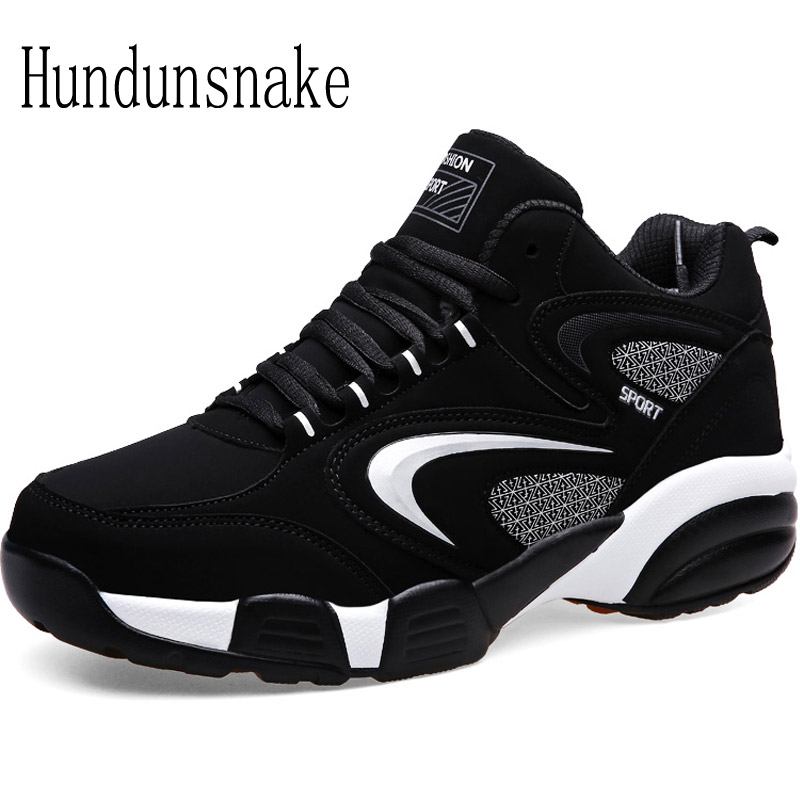 Hundunsnake Winter Fur Sneakers Men Black Suede Warm Adult Male Shoes Sports Running Shoes For Men Krasovki Women Athletic T373 glowing sneakers usb charging shoes lights up colorful led kids luminous sneakers glowing sneakers black led shoes for boys
