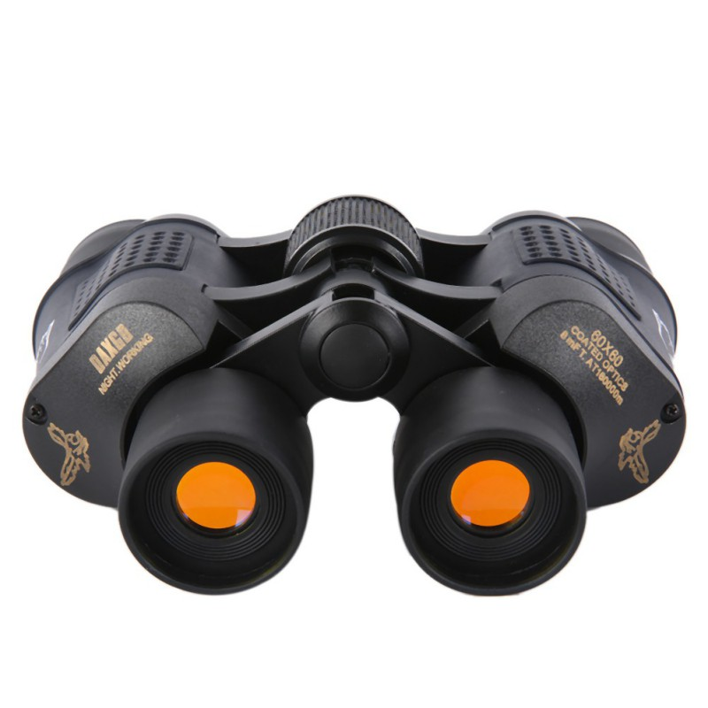 New Magnification 60 x 60 Outdoor Coated Optics Day and Night Vision Working Optical Telescope Binocular with Eye Scale Reading