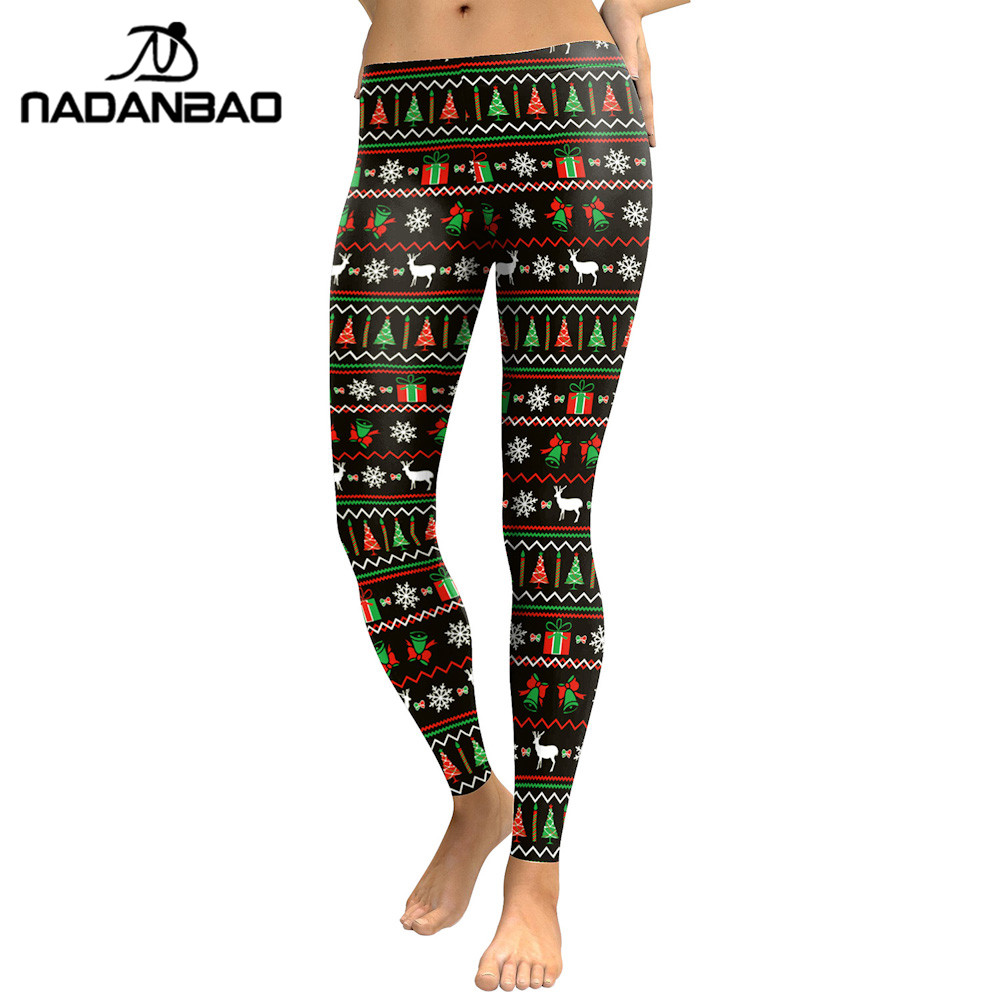 Christmas Party Trousers: Aliexpress.com : Buy NADANBAO Hot Sale Women Leggings Ugly