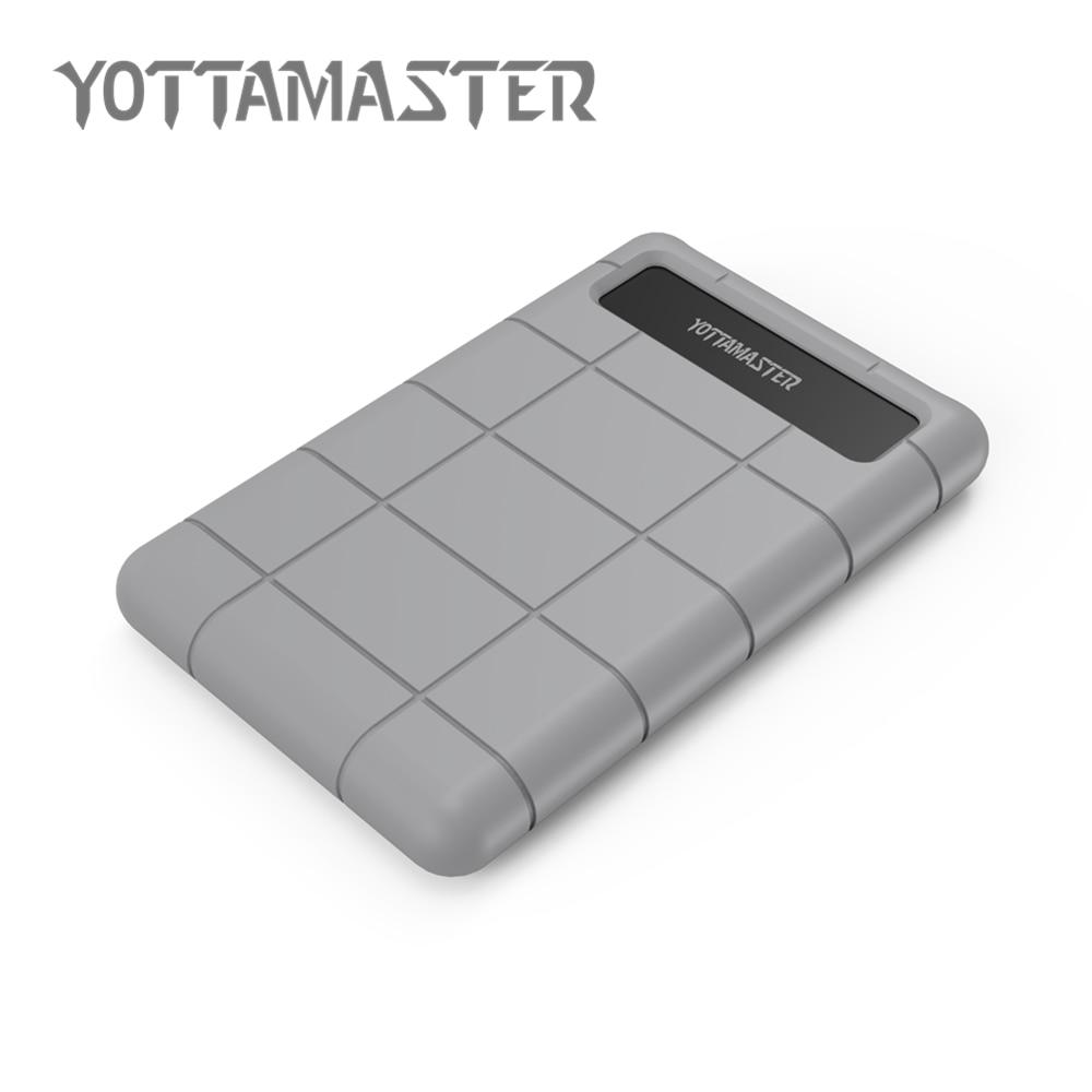 YottaMaster USB 3 0 HDD case Tool Free 2 5Inch Sata HDD Enclosure For Notebook Desktop