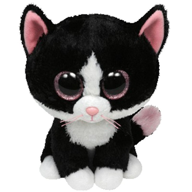 e45dbf5612c Ty Beanie Boos Stuffed   Plush Animals Little Black Cat Doll Toys For  Children With Tag