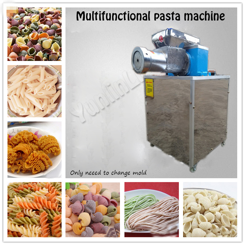 Automatic Pasta Machine Commercial Noodle Machine Pressing Pasta Machine Stainless Steel Noodle Maker With 3 Molds Model 60 sc32 25 free shipping standard air cylinders valve 32mm bore 50mm stroke sc32 25 single rod double acting pneumatic cylinder