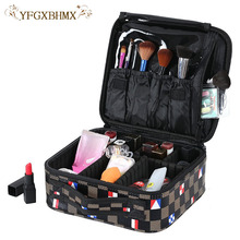 YFGXBHMX Makeup Artist Travel Accessories Cosmetics Organizer Beauty Cosmetic Case & Bag  Multi-Lay