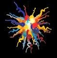 Винтажный стиль и цветная Радужная антикварная люстра