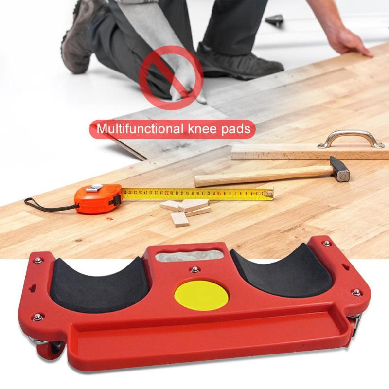 Image 2 - Universal Rolling Knee Protection Pad with Wheel Built in Foam Padded Laying Platform Wheel Kneeling Pad Multi functional Tool-in Tool Parts from Tools