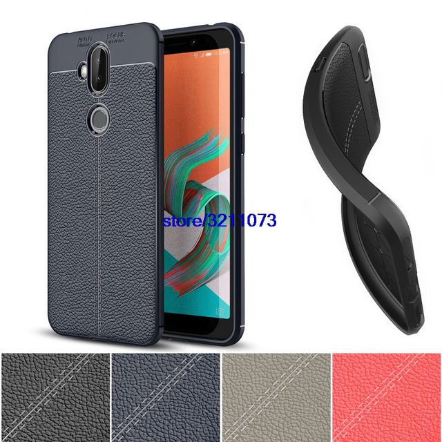 info for b14f0 1cafb US $4.3 9% OFF Silicone Case for Asus ZenFone 5 Lite ZC600KL Case 2018 ZC  600KL for Asus ZenFone 5 Lite 2018 ZC600KL Leather Phone Shell Cover-in ...