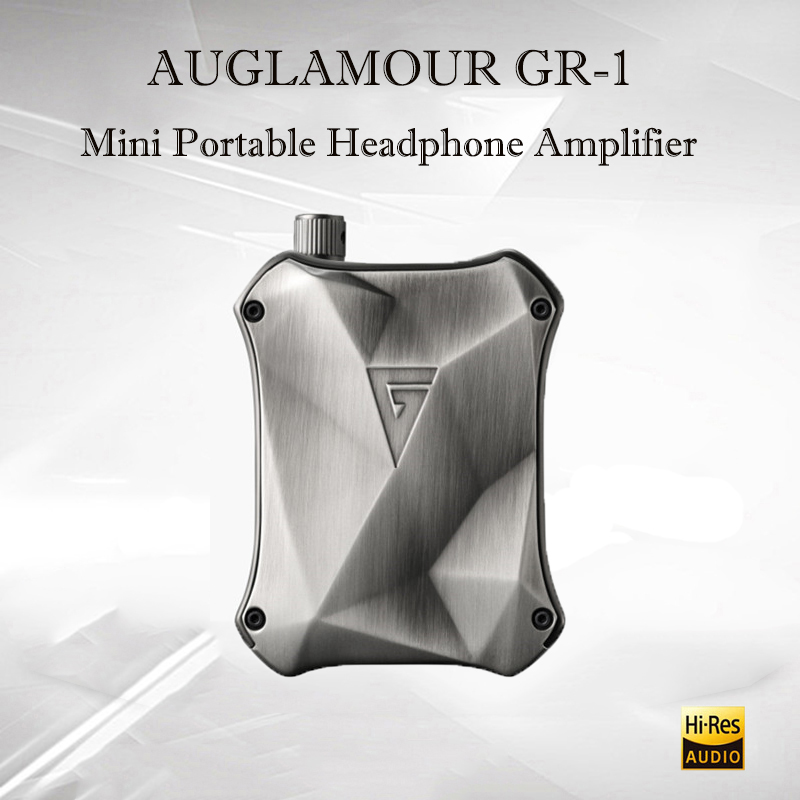 AUGLAMOUR GR-1 Portable Headphone Amplifier Audio USB OPA2604 Amplificador Mini Headphon Amp Hifi Sound Amplifiers Power Amp
