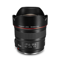 YONGNUO Ultra wide Angle Prime Lens YN14mm F2.8 for Canon 5D Mark III IV 6D 700D 80D 70D Camera