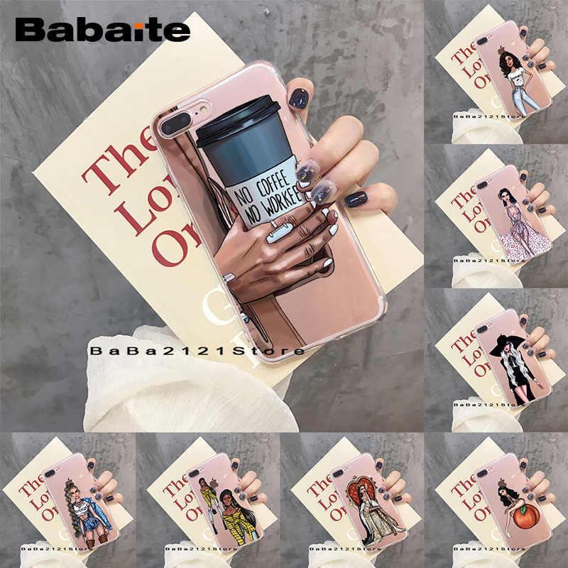 独占自家製 Babaite 流行ファッション女性中空電話ケース iphoneX ため XS XR XSMax 6 6s 7 8 プラス coque11 11pro 11promax