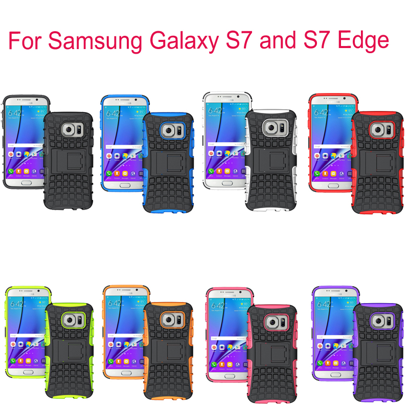 For LG G3 G4 For Samsung Galaxy S7 / Edge Case Silicone Case Cover Unique Grenade Grip Rugged For LG G3 G4 Stand Phone Housing