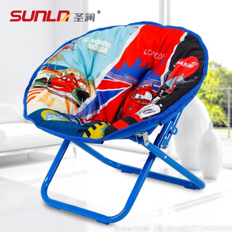 St. Lan Childrenu0027s Chair Folding Chair Cartoon Kids In Kindergarten Leisure  Bags Moon Chair Armchair Small Chair In Children Chairs From Furniture On  ...