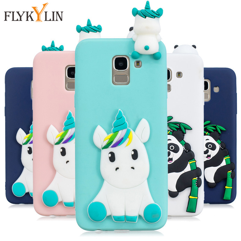 Soft TPU Case on For Coque Samsung Galaxy J6 2018 case For Fundas Samsung  J6 2018 J600 J600F Cover Cartoon Dolls Toys Phone Capa 7c7b1288d5c4