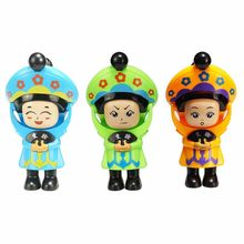 1PC 1PC Fast Mask-Changing Soldiers Toys 4 Different Expressions Plastic Children Fun Face Changing Figure Dolls Birthday Gifts(China)