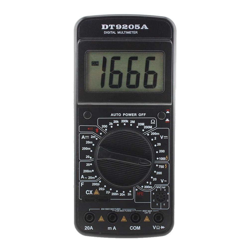 Pocket Dt83b Digital Multimeter Ammeter Voltmeter Dc Ac Resistor Ohm Tester Buy Circuit Testerelectrical Testerac Voltage Dt9205a Lcd Display Professional Electric Handheld Meter Multimetro Multitester Hot