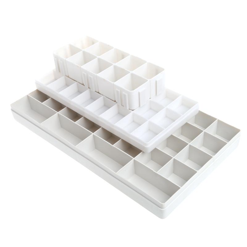 24 Well Watercolor Paint Tray Artist Plastic Drawing Palette Art Supplies