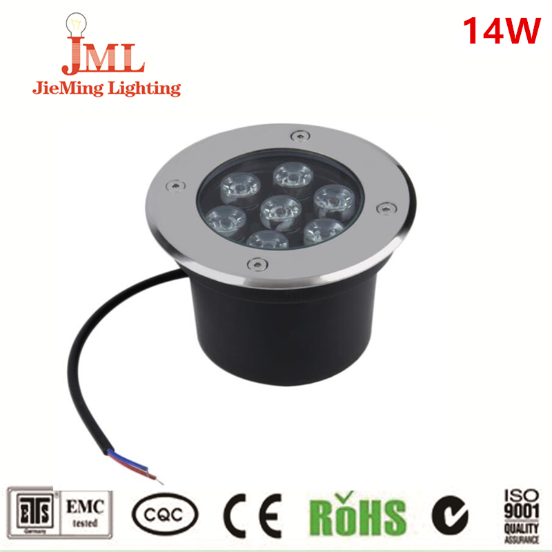 7*2w SS aluminum Underground waterproof floor led buried light