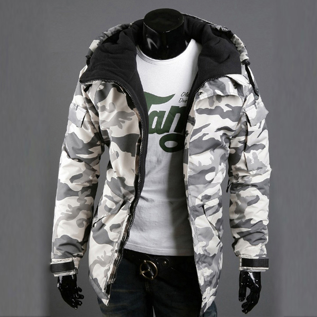 2018 Nova Mens Jaquetas E Casacos Outono Inverno Camuflagem Militar Do  Exército Casaco Masculino Outwear Design b5cc8b8f0fa