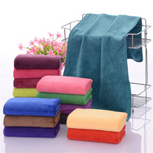 15 Colors Microfiber Fabric Dry Hair Towels Nano 35*75CM Car Wash Cleaning Towel Absorbent Face Hand Bathroom Toallas