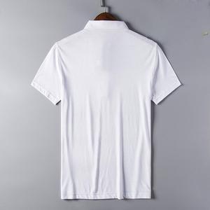 Image 5 - Hommes Polo chemise Offre Spéciale nouveau plaid 2019 été mode classique décontracté hauts manches courtes célèbre marque coton crâne de haute qualité
