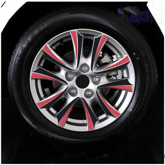 18 Inch 2 0cc Wheel Rims Sticker With Red Ring For Mazda 3 Axela 2017 Z2ca700 In Car Stickers From Automobiles Motorcycles On Aliexpress Alibaba