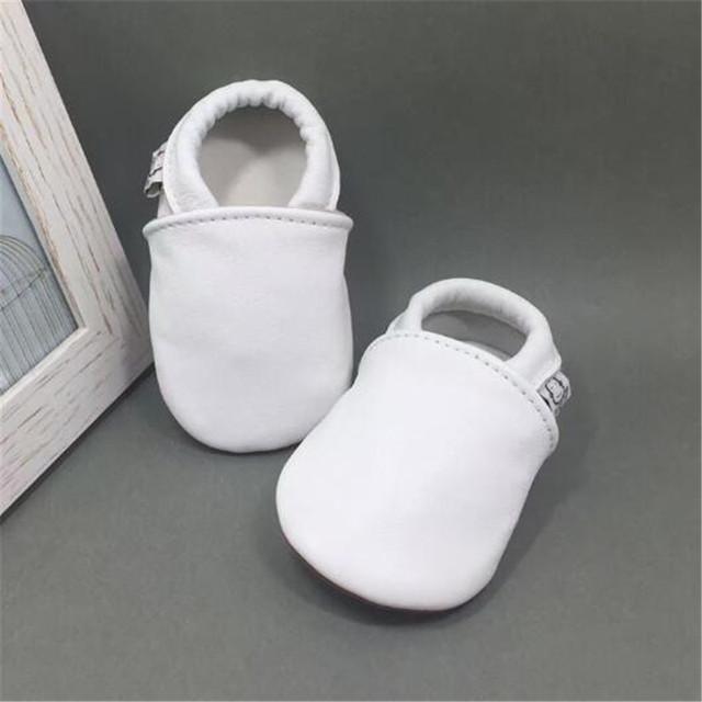 Cuero genuino Mocasines Bebé Niños Kids Party Girls Princesa Shoes Casual Pisos Suaves Zapatos Del Bebé Primeros Caminante zapatos nina