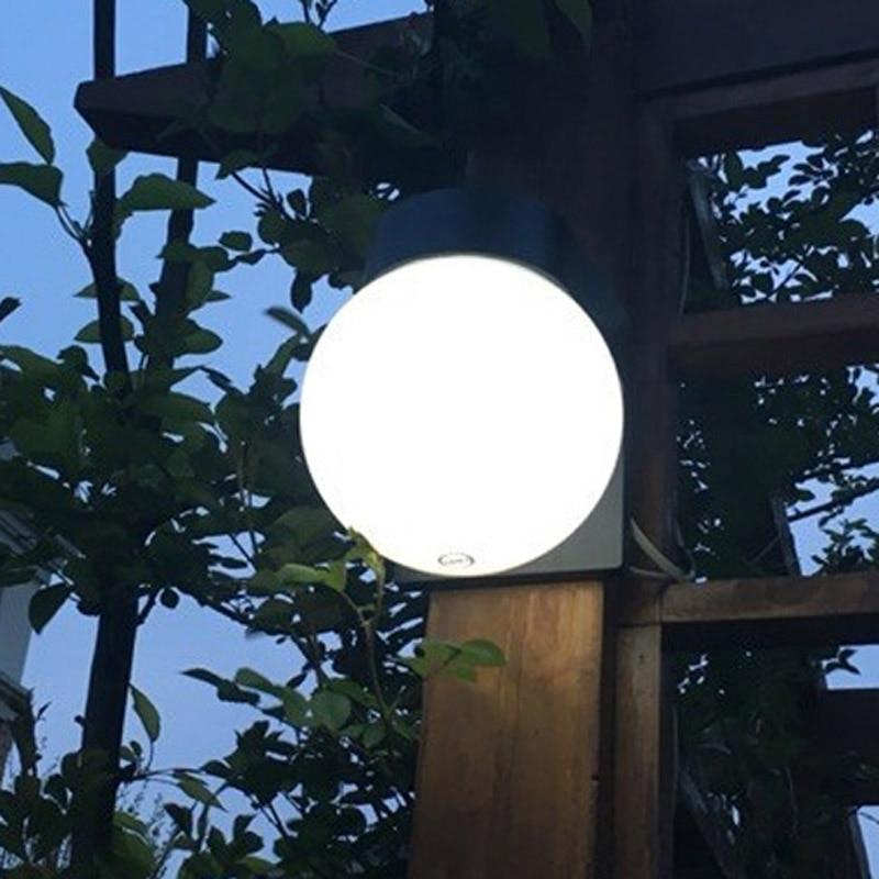 Led Wall Light Fixture Outdoor Waterproof Building Exterior Gate Balcony Garden Yard Porch