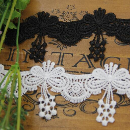 Free Shipping 60yards Beautiful White Venice Lace Trim Ribbon Butterfly Appliques Sewing Trims DIY Wedding Garment Accessories-in Lace from Home & Garden on AliExpress - 11.11_Double 11_Singles' Day 1